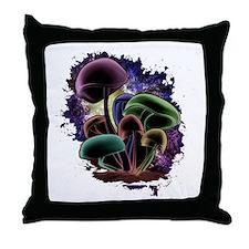 Nebula_Door Throw Pillow