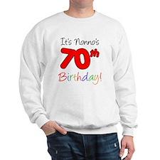 Nonno 70th birthday Jumper