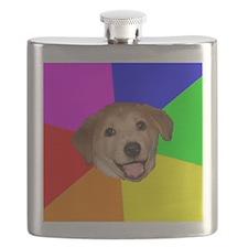 Advice Dog Flask