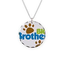 DogPawPrintBigBrotherToBe Necklace