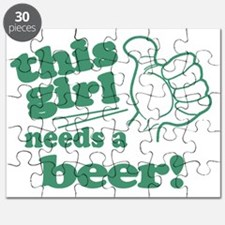 This Girl Needs a Beer Puzzle