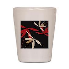 Oriental Floral Decor Shot Glass