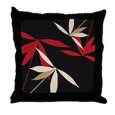 Oriental Floral Decor Throw Pillow