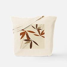 Oriental Floral Decor Tote Bag