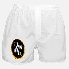 OrangePortalLie Boxer Shorts