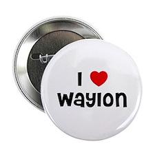 "I * Waylon 2.25"" Button (10 pack)"