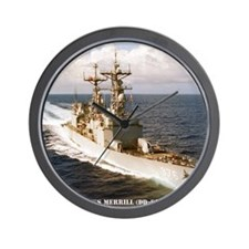 merrill framed panel print Wall Clock