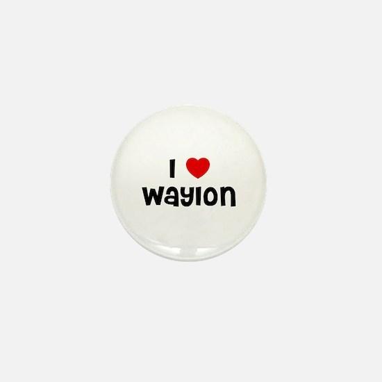 I * Waylon Mini Button