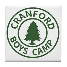 Cranford-Boys-Camp_Cafe Tile Coaster