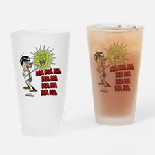 dexter8 Drinking Glass