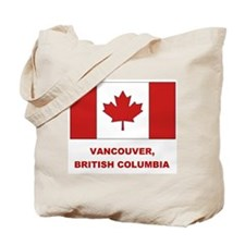 Vancouver Can Flag Tote Bag