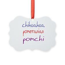 pomchi_black Ornament