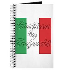 Italian by Default Journal