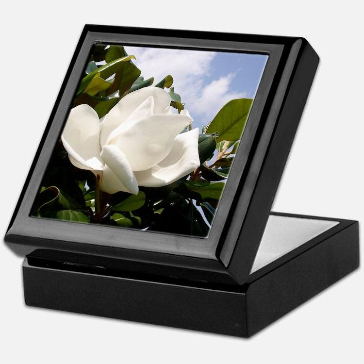 Magnolia In Heaven Keepsake Box