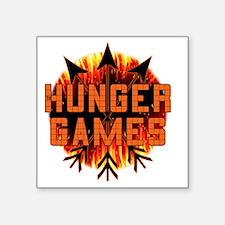"hunger games gear plain mot Square Sticker 3"" x 3"""