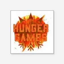 """HUNGER GAMES GEAR WITH SCRE Square Sticker 3"""" x 3"""""""