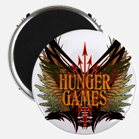 hunger games with wings and arrows copy Magnet