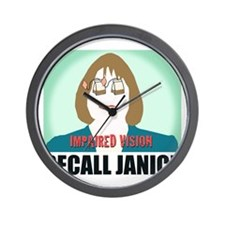 Recall Janice Impaired Vision Wall Clock