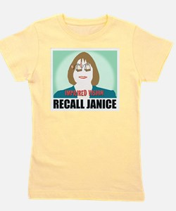 Recall Janice Impaired Vision Girl's Tee