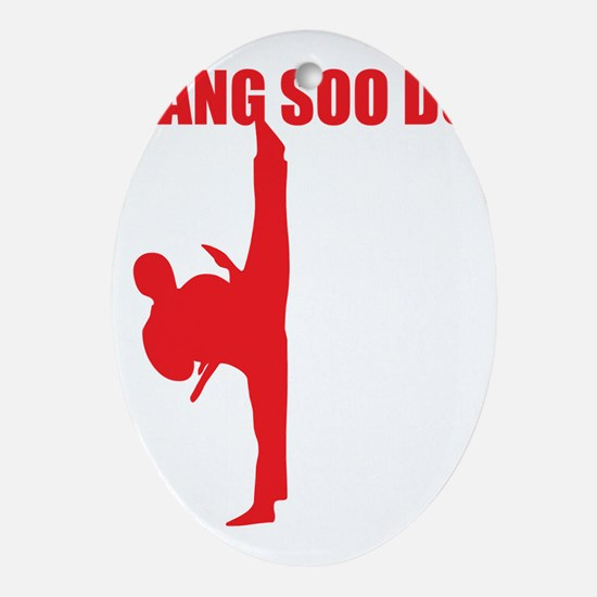 Tang Soo Do Dark Oval Ornament