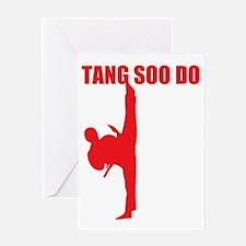 Tang Soo Do Dark Greeting Card