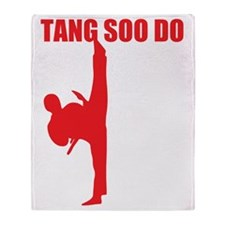 Tang Soo Do Dark Throw Blanket