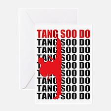 Tang Soo Do Light Greeting Card