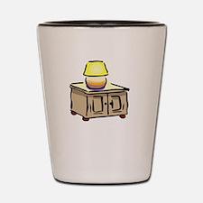 One Nightstand White Shot Glass