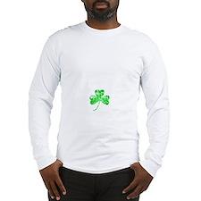 Lucky Shamrock -blk Long Sleeve T-Shirt