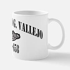 mgvallejo black letters Mug