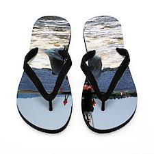 mgvallejo large framed print Flip Flops