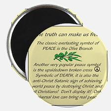 Peace Symbol TruthB Magnet