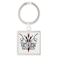 best hunger games t-shirts hunger  Square Keychain