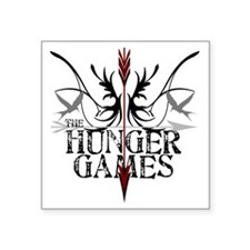 "best hunger games t-shirts  Square Sticker 3"" x 3"""