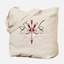 bow and arrow stylized for dark backgroun Tote Bag
