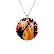 katniss on fire version 6 co Necklace