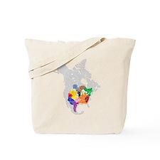 panem map Tote Bag