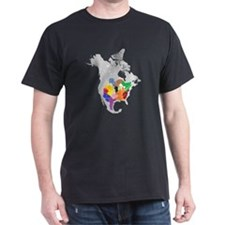 panem map T-Shirt