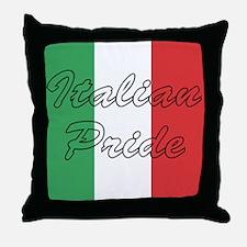 Italian Pride Throw Pillow