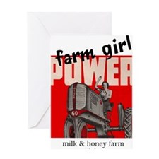 farmgirlpower Greeting Card