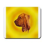 Beautiful Bloodhound Head stu Mousepad
