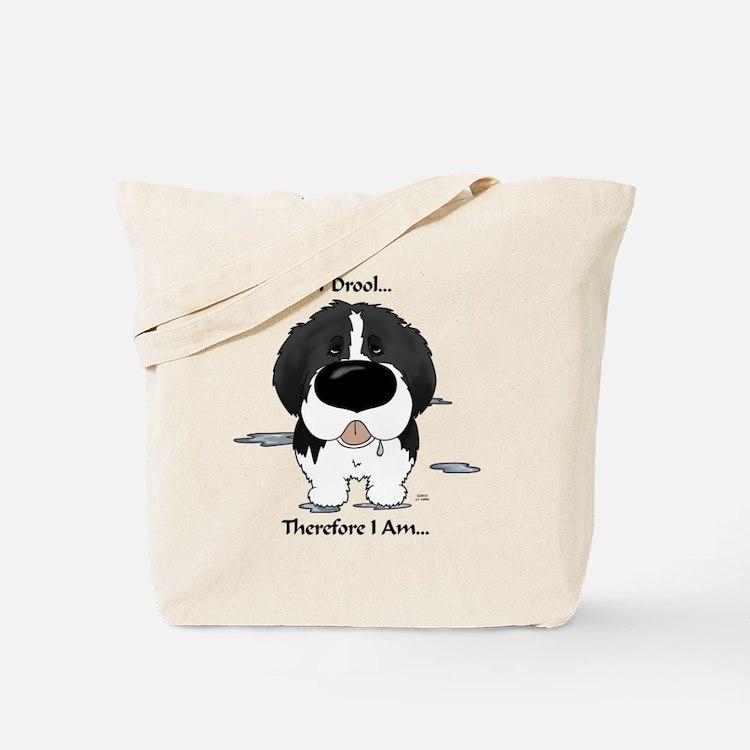 LandseerDroolLight Tote Bag