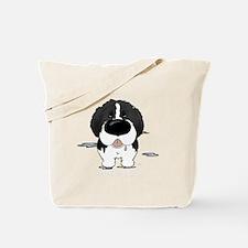 LandseerDroolDark Tote Bag