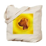 Beautiful Bloodhound Head stu Tote Bag