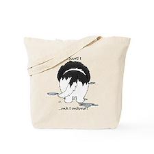 LandseerDroolMirrorLight Tote Bag