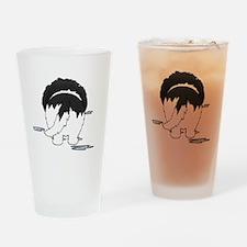 LandseerDroolMirrorDark Drinking Glass