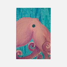 uiad_octopus_fr Rectangle Magnet
