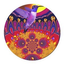 Nectar of Now Round Car Magnet