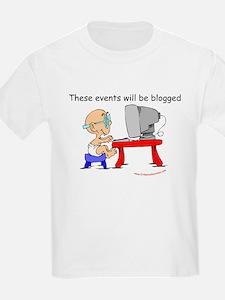 Blogger Baby Kids T-Shirt