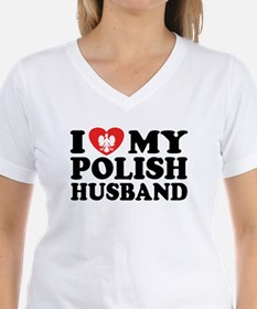 I Love My Polish Husband Shirt